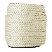Bobine de corde polyamide nylon blanc