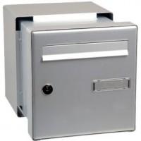 Boîte aux lettres - passe-mur à encastrer