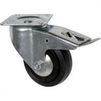 Roulette Manu-Roll pivotante à frein
