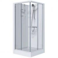 Cabine IZI Glass carré portes coulissantes