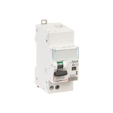 Disjoncteur différentiel DX³ 4500 - 6 kA courbe C, protection des départs