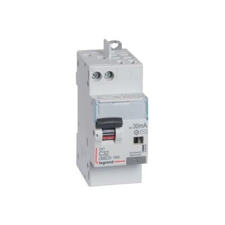 Disjoncteur différentiel monobloc DX³ 6000 - 10 kA courbe C, protection tête de groupe