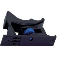 Clip de coulisse Quadro V6 pour tiroir en bois