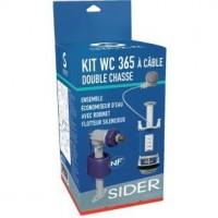 Kit 365 à câble, poussoir double débit