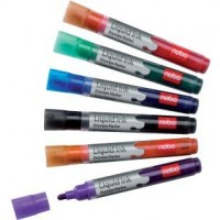 Lot de 6 marqueurs Liquid INK Drymarkers