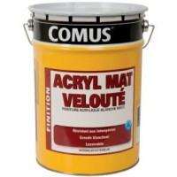 Peinture acryl mat velouté